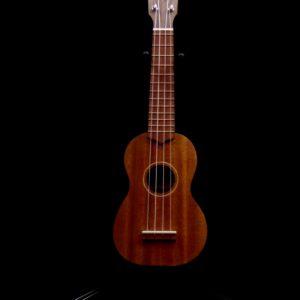 1925 Soprano Ukulele by Justin Deurmyer